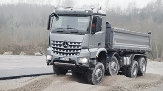 ► 2013 Mercedes Arocs TEST DRIVE OFF ROAD