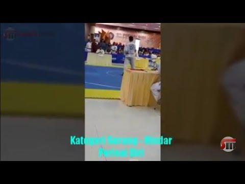 Tragis.. Kena Saat Serang Hindar | 9th Perisai Diri International Championship PDIC 2017