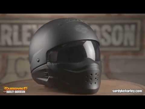 Harley Davidson Pilot 3 in 1 X04 Helmet 98193 17VX Pilot II 3 in 1 X04 Helmet 98301 18VX
