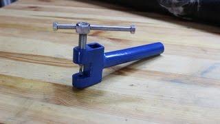 smagliacatena fai da te (homemade chain tool)