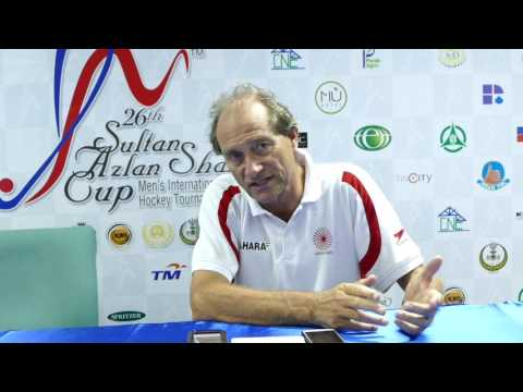 India v New Zealand Press Conference. Sultan Azlan Shah Cup 2017