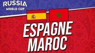 COUPE DU MONDE 2018   ESPAGNE - MAROC
