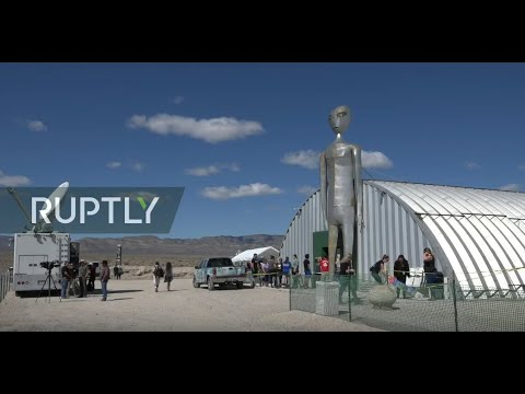 LIVE: People gather in the Nevada Desert for 'Storm Area 51'