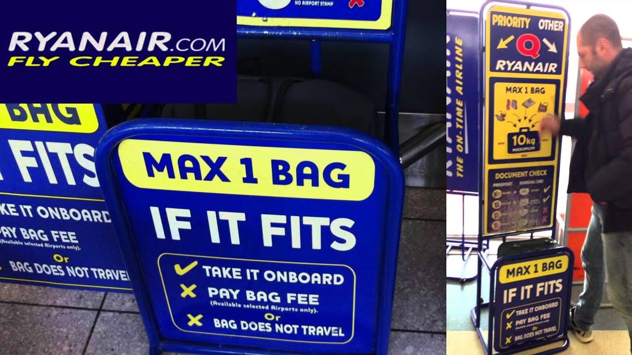 Ryanair baggage