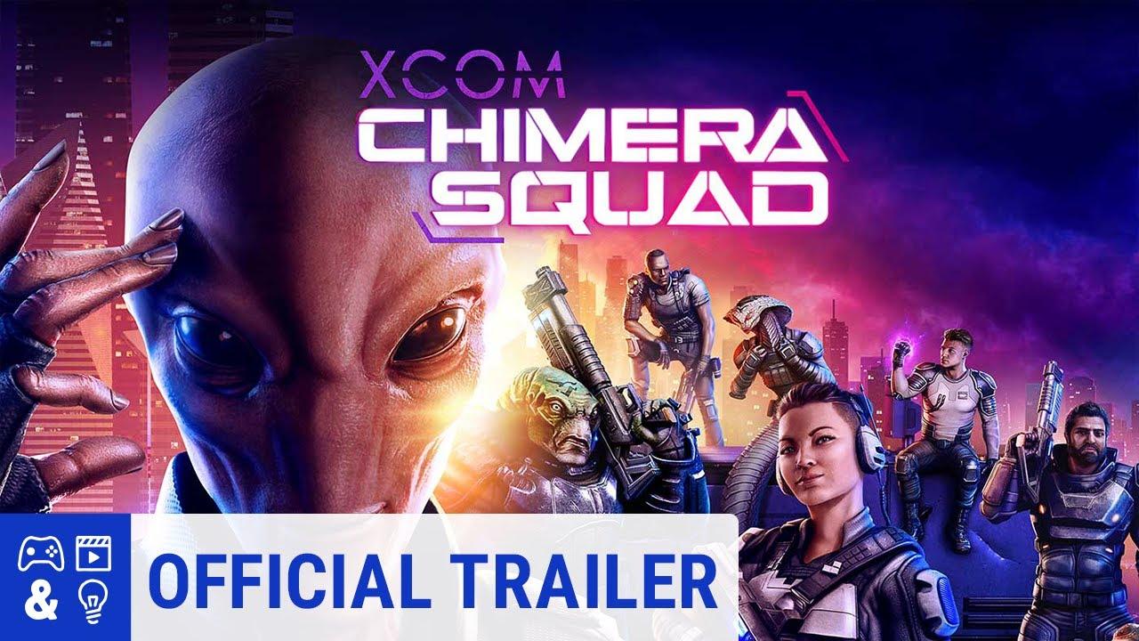 Xcom Chimera Squad Reveal