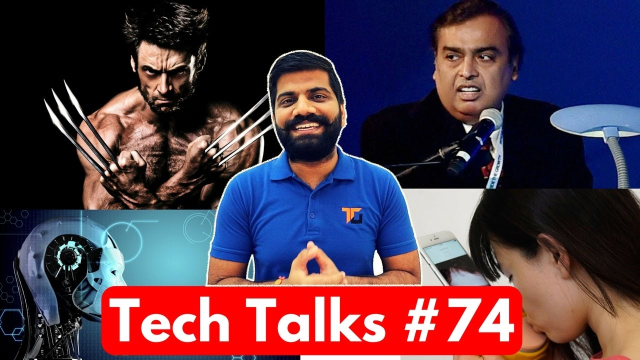 Tech Talks #74 - Jio Ending? iPhone 8 AI, Nokia Live Phone, Sundar Pichai in India, Thinnest Wire