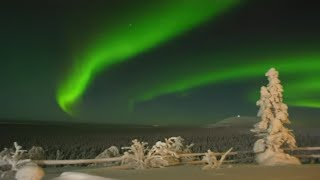 Northern lights in Lapland - Aurora borealis: scientific facts from Sodankylä Finland revontulet