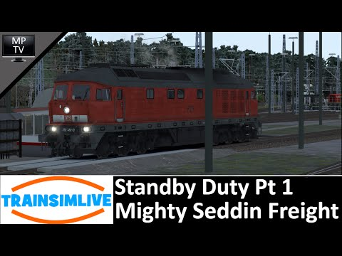 Train Simulator - Standby Duty Pt 1 (Seddin Freight), VirtualTracks