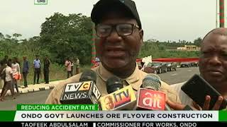 Ondo govt  launches Ore flyover construction