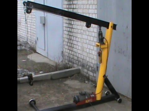 Сам себе автомеханик: подъёмник для авто своими руками