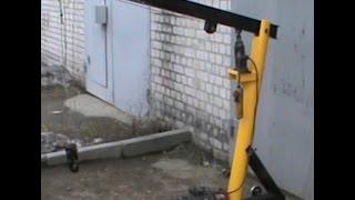 Самодельный подъемник для двигателя часть 1  Homemade lift for the engine part 1