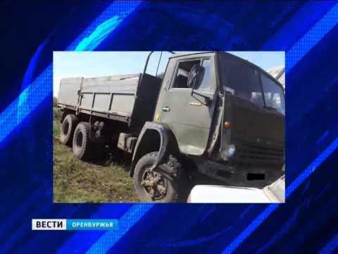 В Асекеево легковушка опрокинула «КамАЗ»