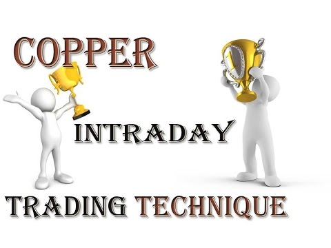 Copper Intraday Trading technical strategy -90 % working