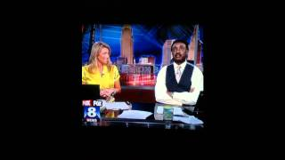 News Reporter drops the S-bomb after Nodding Off Fox 8 Cleveland