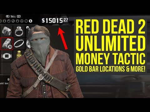 Red Dead Redemption 2 Money Glitch Multiple Locations Gold Bar