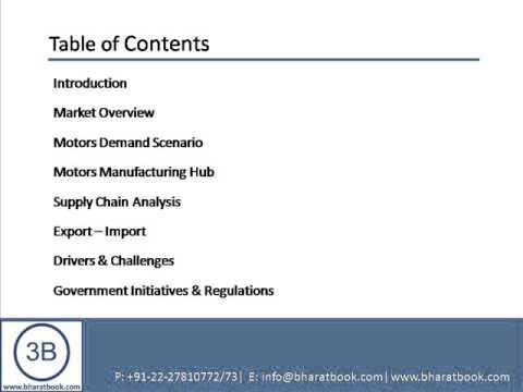 Bharat Book Presents : Motors Market in India 2013