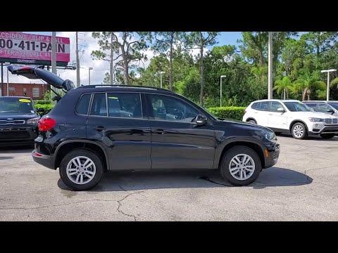 2017 Volkswagen Tiguan Orlando, Sanford, Kissimme, Clermont, Winter Park, FL 4475P