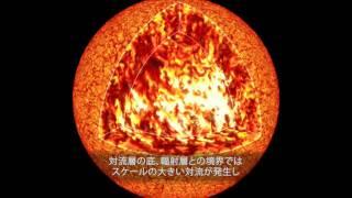 太陽の活動~熱対流と自転~