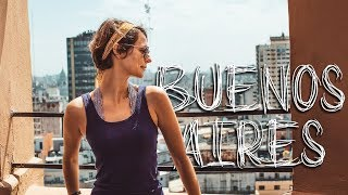 First Impressions of Buenos Aires! Argentina Travel Vlog
