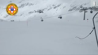 Panne im Skigebiet: Rettung aus dem Sessellift