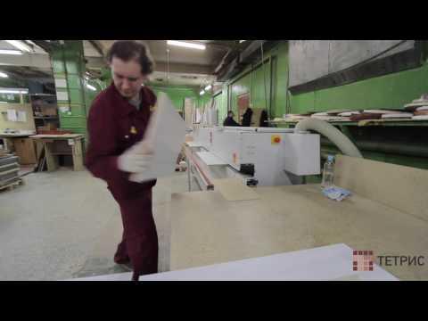Кромление ЛДСП. Изготовление кухонь и шкафов-купе на заказ в Санкт-Петербурге.