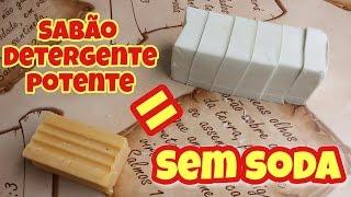SABÃO EM BARRA SEM SODA – MENOS DE 1 REAL