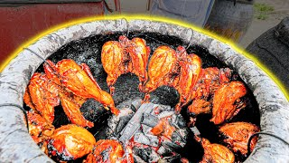 Street Food in Malaysia - LEMONGRASS Whole Chicken BBQ  + Best MALAY Food Tour Road Trip!!!