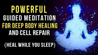 HEAL Your Body With Your MIND! + POWERFUL Guided Meditation to MANIFEST Full Body HEALING! thumbnail