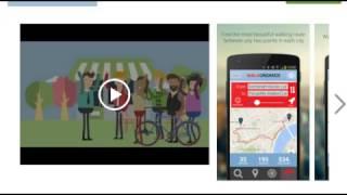 Приложение поиска Зеленых маршрутов для любителей экологии и здорового образа жизни