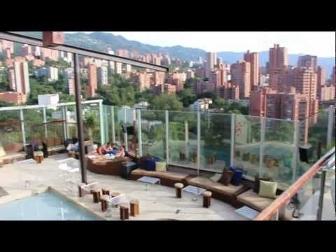 THE CHARLEE hotel Penthouse Review and Tour  (Parque Lleras, Medellin Colombia)