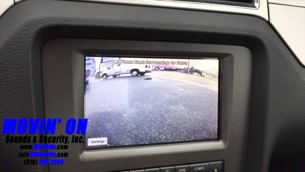 Ford Mustang Backup Camera