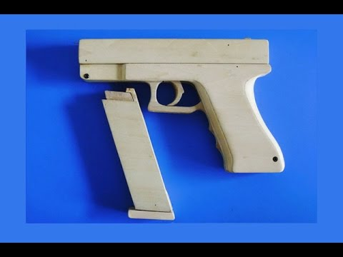 Shell Ejection Rubber Band Gun - Blow Back