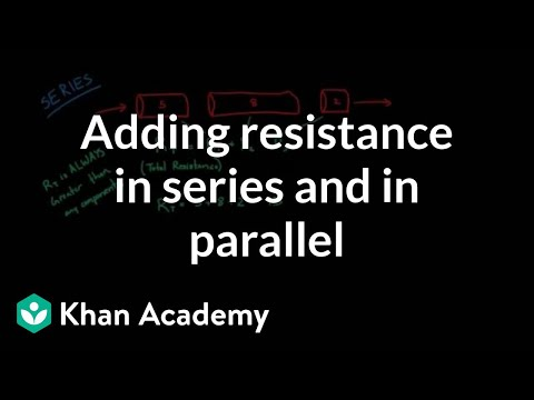Adding up resistance in series and in parallel | NCLEX-RN | Khan Academy