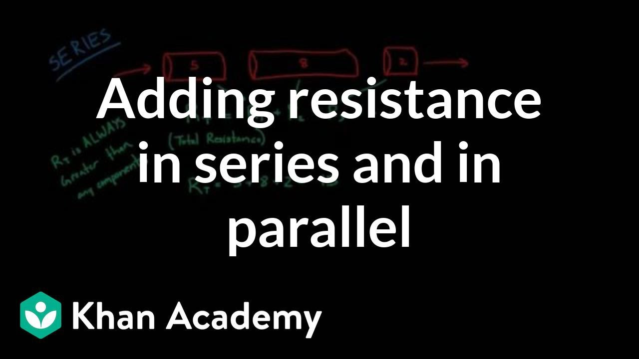 Adding Up Resistance In Series And Parallel Nclex Rn Khan The Combined Of Resistors Is Sum All