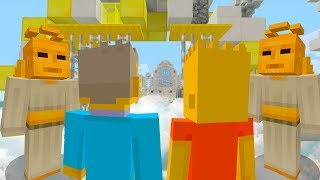 SKINNER GOES TO HEAVEN | The Simpsons | Minecraft Xbox