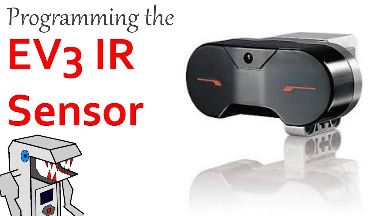 How to Program the EV3 Infrared Sensor - YouTube