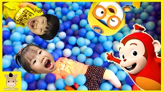 Indoor Playground for Kids Happy Cocomong Surprise Toy Famliy Fun Slide | MariAndKids Toys