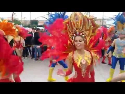 Así se vive el carnaval en Ensenada