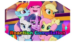 My Little Pony - The Movie Trailer 2017 - Reaction Compilation
