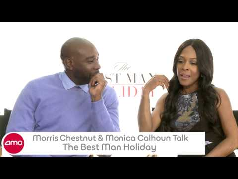 Morris Chestnut & Monica Calhoun Talk THE BEST MAN HOLIDAY With AMC