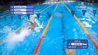 Championnats du Monde de natation 2013 - Médaille d'Or pour la France sur le relais 4x100m 4 nages