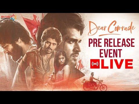 dear-comrade-pre-release-full-event-|-vijay-deverakonda-|-rashmika-mandanna-|-bharat-kamma-|-mmm
