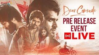 Dear Comrade Pre Release Full Event   Vijay Deverakonda   Rashmika Mandanna   Bharat Kamma   MMM