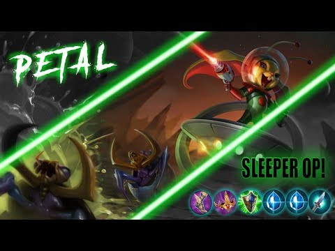 Petal Sleeper Over Powered! - Learn To Climb To Vainglorious! - Vainglory 5v5