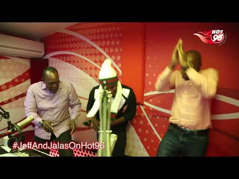 Sudi Boy Jeff Koinange and Jalango dance to Sudi's song Mamitho