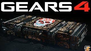 Gears of War 4 Gear Packs - OPENING 10 LOST SOULS GEAR PACKS!