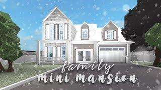 Roblox | Bloxburg: Family Mini Mansion | Speedbuild
