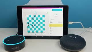 Amazon's Alexa vs Google Assistant at Chess (Full Game)
