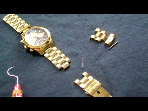 michael kors watch band removal  review