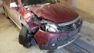 Renault Sandero Stepway Слепили из того что было